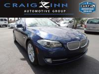 CarFax 1-Owner, This 2012 BMW 5 Series 550i will sell