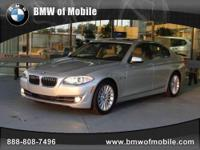 BMW of Mobile presents this 2012 BMW 5 SERIES 4DR SDN
