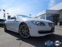 Beautiful 2012 BMW 650i Convertible. This rare one