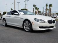 CARFAX One-Owner. Clean CARFAX. White Metallic 2012 BMW