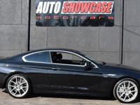 This 2012 BMW 6 Series 2dr 650i xDrive features a 4.4L