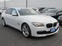 CARFAX 1-Owner, GREAT MILES 33,627! 750i trim. PRICE