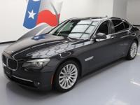 2012 BMW 7-Series with Luxury Seating Package,4.4L Twin