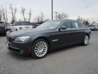 This 2012 BMW Alpina B7 is offered in long-wheelbase