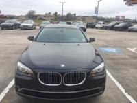 We are excited to offer this 2012 BMW 7 Series. This