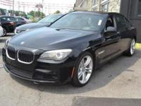 This 2012 BMW 7 Series 4dr 750Li xDrive features a V8