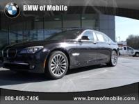BMW of Mobile presents this 2012 BMW 7 SERIES 4DR SDN