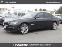 BMW Certified! Turbo! This 2012 7 Series is for BMW