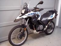 2012 BMW G650GS Sertao. This bike is very off roadway