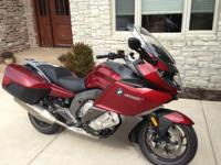 This is a loaded BMW K1600GT. The bike comes with ABS,