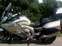 2012 BMW K1600 GTL Luxury Touring Motorcycle 9100 Miles