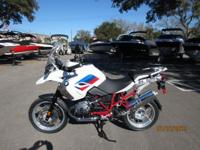 2012 BMW R1200 GS RALLY EDITION NEW ON MSO 1400 MILES.