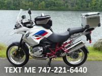 2012 BMW R1200 GS Rallye 4,698 miles just breaking in.