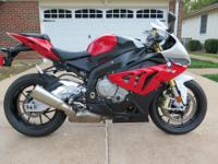 For sale 2012 BMW S1000RR. This bike is adult ridden,