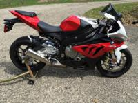 BMW 2012 S1000RR STILL UNDER WARRANTY (5/2015) Never