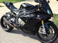 2012 BMW S1000RR WITH FULL TITANIUM AKRAPOVIC WITH ECU