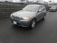 All Wheel Drive BMW X3 'THE ULTIMATE DRIVING MACHINE'