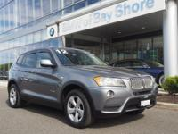 Elegantly expressive, this 2012 BMW X3 is a meticulous