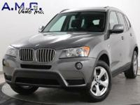 2012 BMW X3 xDRIVE28i !! FREE CARFAX !! NO NEED FOR