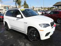 Options:  2012 Bmw X5 M Base Awd 4Dr Suv|White|2-Stage
