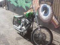 2012 BOBBER RIGID FRAME EVOLUTION MOTOR 5 SPEED