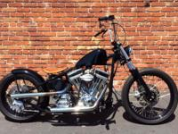 This is a 2012 custom - special construction bobber -