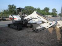 2012 Bobcat E50 Low Hr Muni Trade in The E50 makes