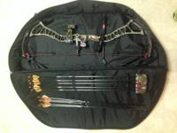For sale is a 2012 Bowtech Insanity CPXL and extras.
