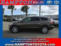 This 2012 Buick Enclave Base is proudly offered by
