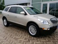 2012 Buick Enclave Leather Group in Gold Mist Metallic,