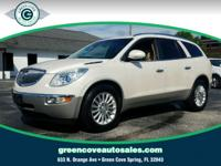 This 2012 Buick Enclave Leather Group in White Diamond
