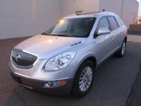 You are looking at a beautiful, Silver 2012 Buick