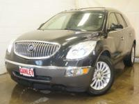 CLEAN CARFAX. Enclave Leather Group, 4D Sport Utility,