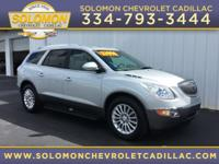 2012 Buick Enclave Leather Group in Silver vehicle