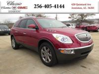 Options:  2012 Buick Enclave Leather|Red/|V6 3.6L