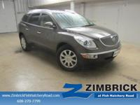 Options:  2012 Buick Enclave Fwd 4Dr Leather|4-Wheel