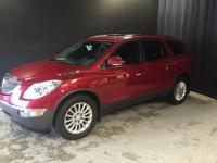 2012 Buick Enclave Leather Group in Crystal Red