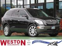 2012 Buick Enclave Premium Group Black Fresh Oil