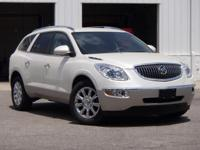 2012 Buick Enclave Premium Group White Diamond Tricoat