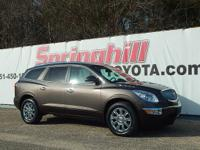 This 2012 Buick Enclave come to you with a Carfax