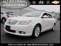 2012 Buick LaCrosse 4dr Car Leather Our Location is: MJ