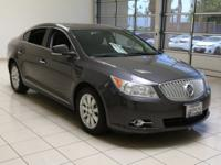 BUICK LaCROSSE LEATHER PACKAGE SEDAN, One Owner, LOCAL
