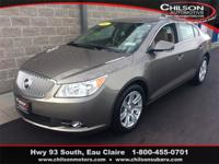2012 Buick LaCrosse Leather Group Mocha Steel Metallic
