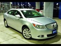 Beautiful 2012 LACROSSE CXL FWD SEDAN......silver