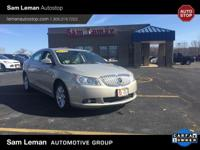 Check out this sharp 2012 Buick LaCrosse. Dressed in