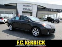 This Buick LaCrosse is Certified Preowned! This 2012