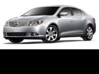 2012 Buick LaCrosse PREMGR! Featuring a 3.6L V6 and