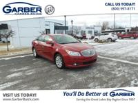 Introducing the 2012 Buick LaCrosse Premium 1 Group!