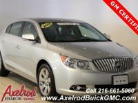 ** GM CERTIFIED ** BUICK LACROSSE PREMIUM 1 GROUP,