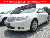 Come see this 2012 Buick LaCrosse Premium 3 before it's